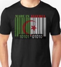 Algeria Barcode Flag Made In... T-Shirt