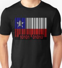 Chile Barcode Flag T-Shirt