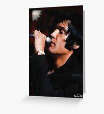 Elvis Black 69 Greeting Card
