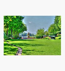 The Park (HDR) Photographic Print