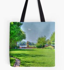 The Park (HDR) Tote Bag