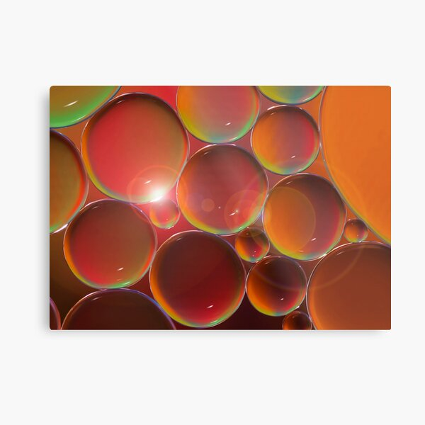 Peach raspberry lemonade Metal Print