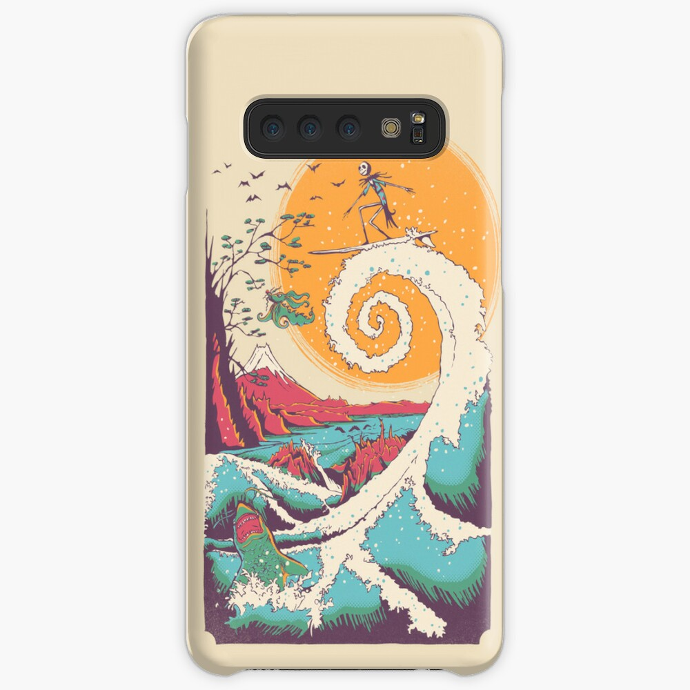 Surf Before Christmas Case & Skin for Samsung Galaxy