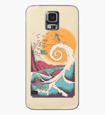 Surf Before Christmas Case/Skin for Samsung Galaxy