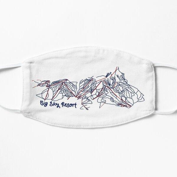 Big Sky Resort Trail Map  Flat Mask