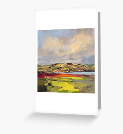 Cromarty Firth Study Greeting Card
