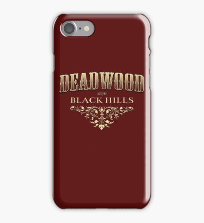 Deadwood iPhone Case/Skin