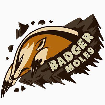 Team Badger Mole by kapieren