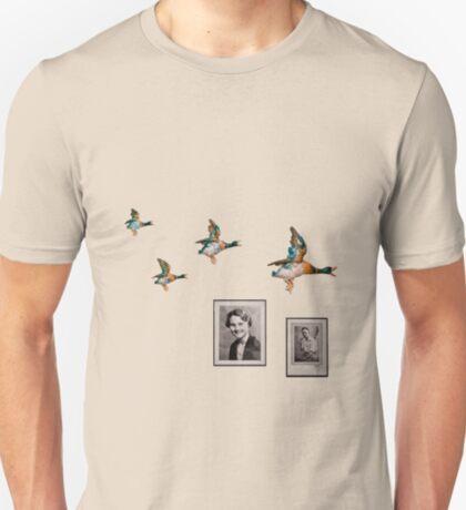 Flying Ducks Grandad's Wall T-Shirt