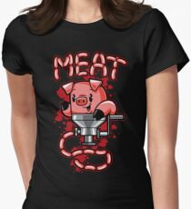 Nice to Meat You! Women's Fitted T-Shirt