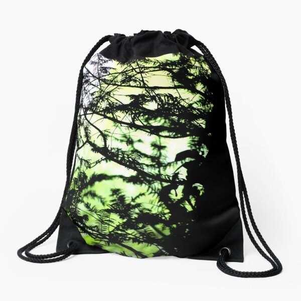 Shadows of the Yew Drawstring Bag