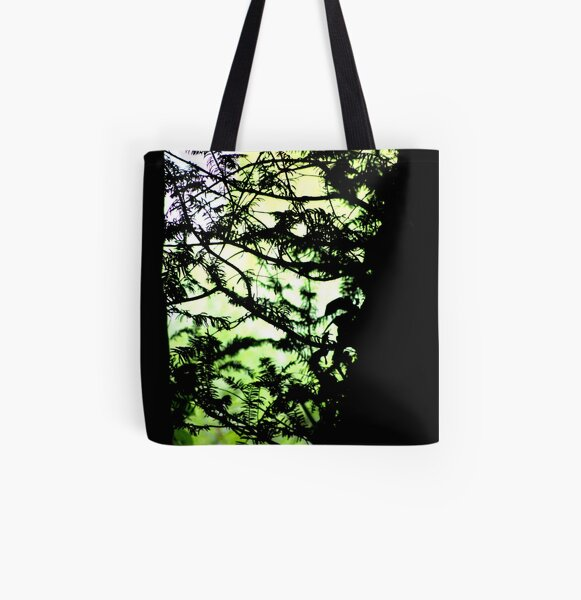 Shadows of the Yew All Over Print Tote Bag