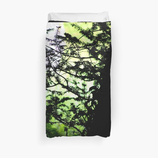 Shadows of the Yew Duvet Cover
