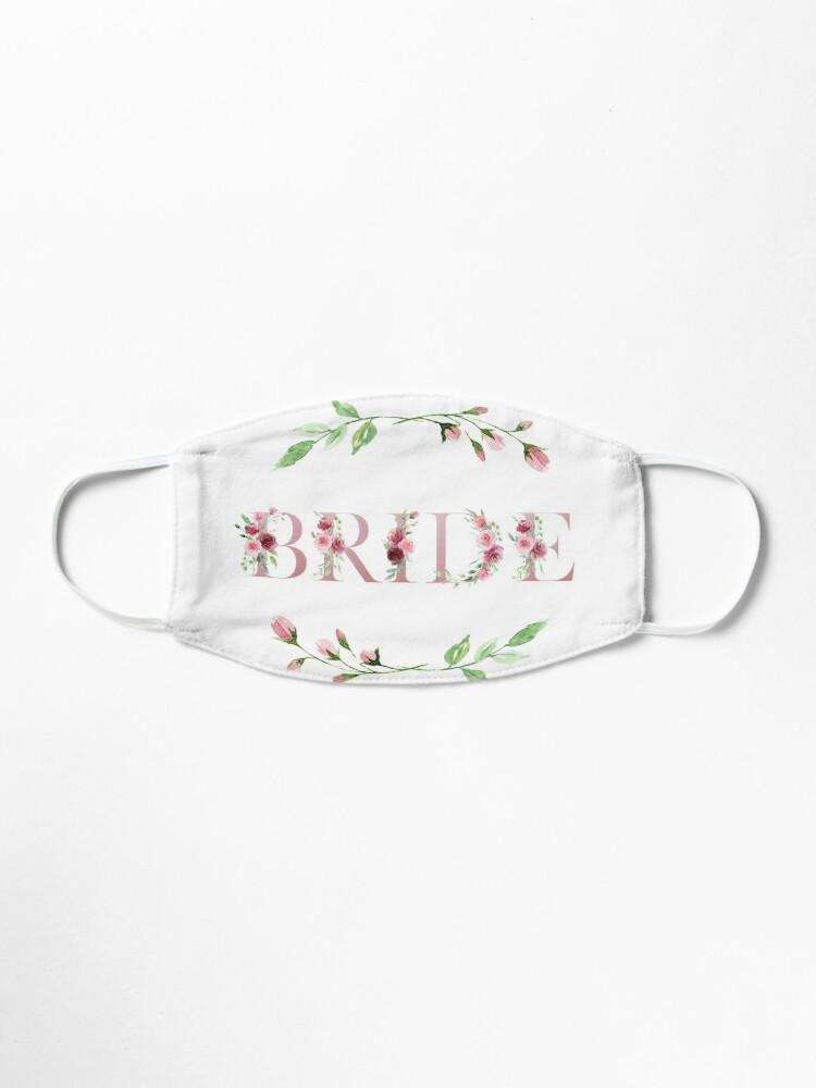 'The Bride - Rosey Collection' Mask by BlushPearls