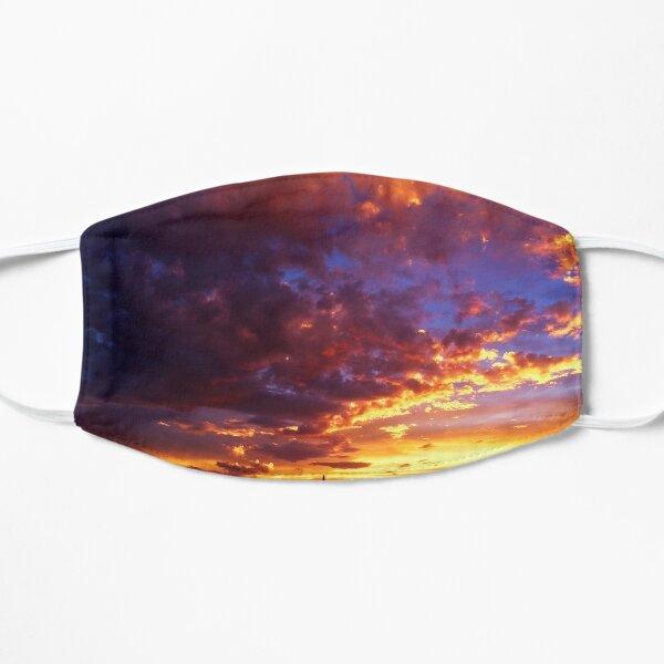 A Very Lisa F. Sunset Flat Mask