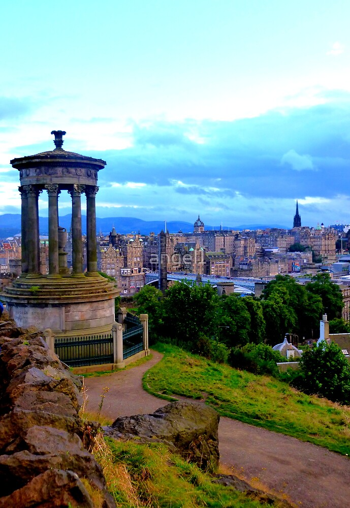 View from Calton Hill over Edinburgh by ©The Creative  Minds