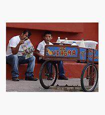 The Miracle Of Hot Mexican Food - El Milagro De Las Picantes Comidas Mexicanas Photographic Print