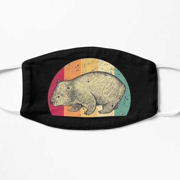 Wombat retro Flat Mask