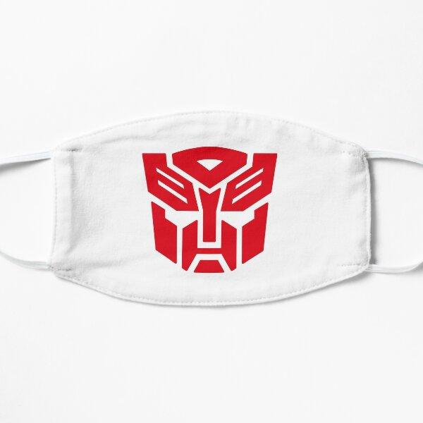 Transformadores de símbolo de Autobot Mascarilla plana