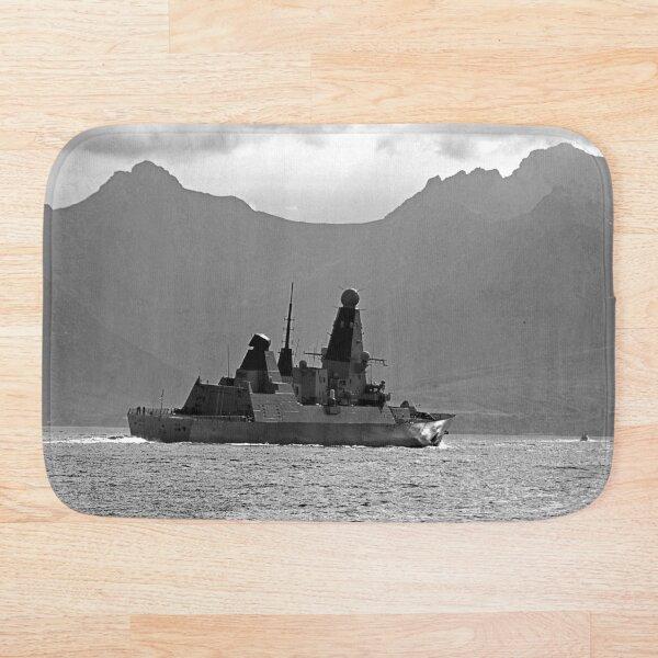 Isle of Arran Scotland and HMS Diamond  Bath Mat