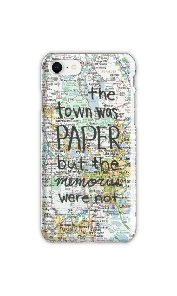 how to print photos from iphone quot paper towns quot iphone cases amp skins by novillust 3984