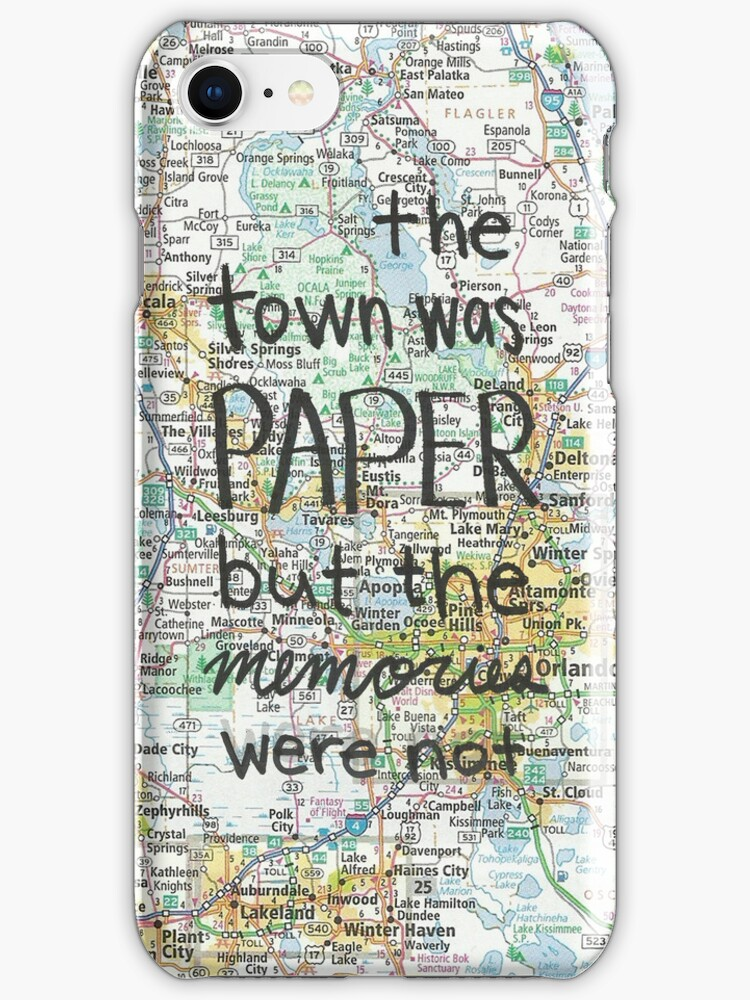 Paper Towns case by novillust