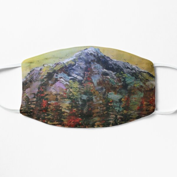 Mount Rainier Mountain Art  Mask