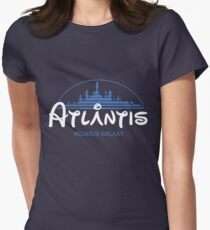 The Wonderfull City of Atlantis (Stargate) Women's Fitted T-Shirt