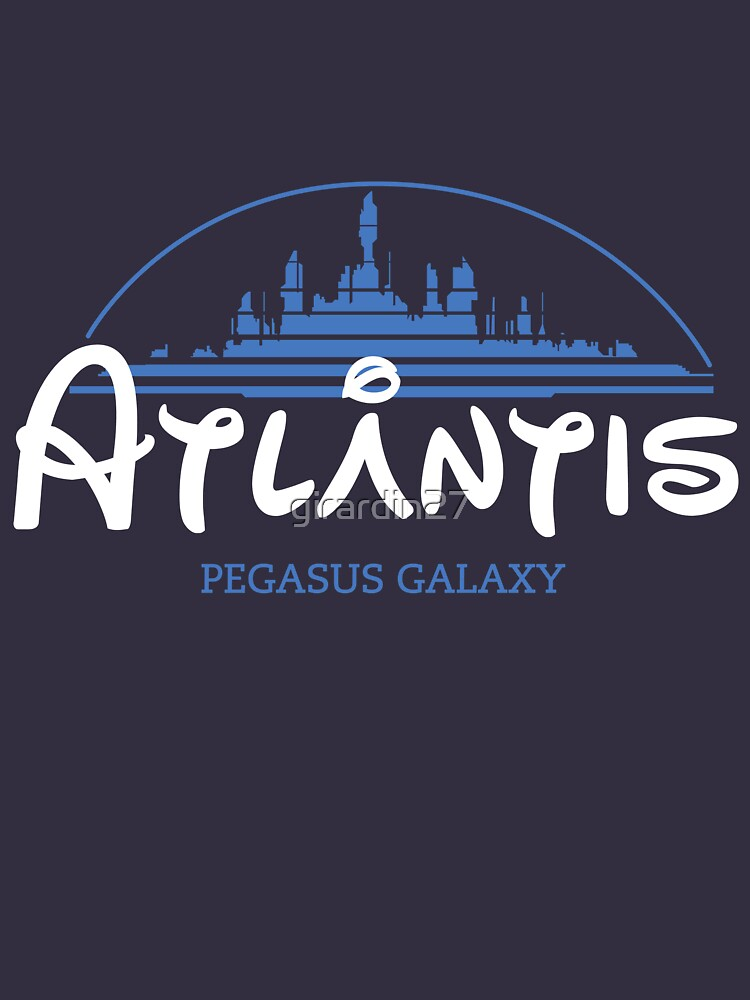 The Wonderfull City of Atlantis (Stargate) | Unisex T-Shirt