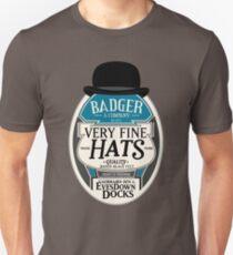 Badger's Very Fine Hats Unisex T-Shirt