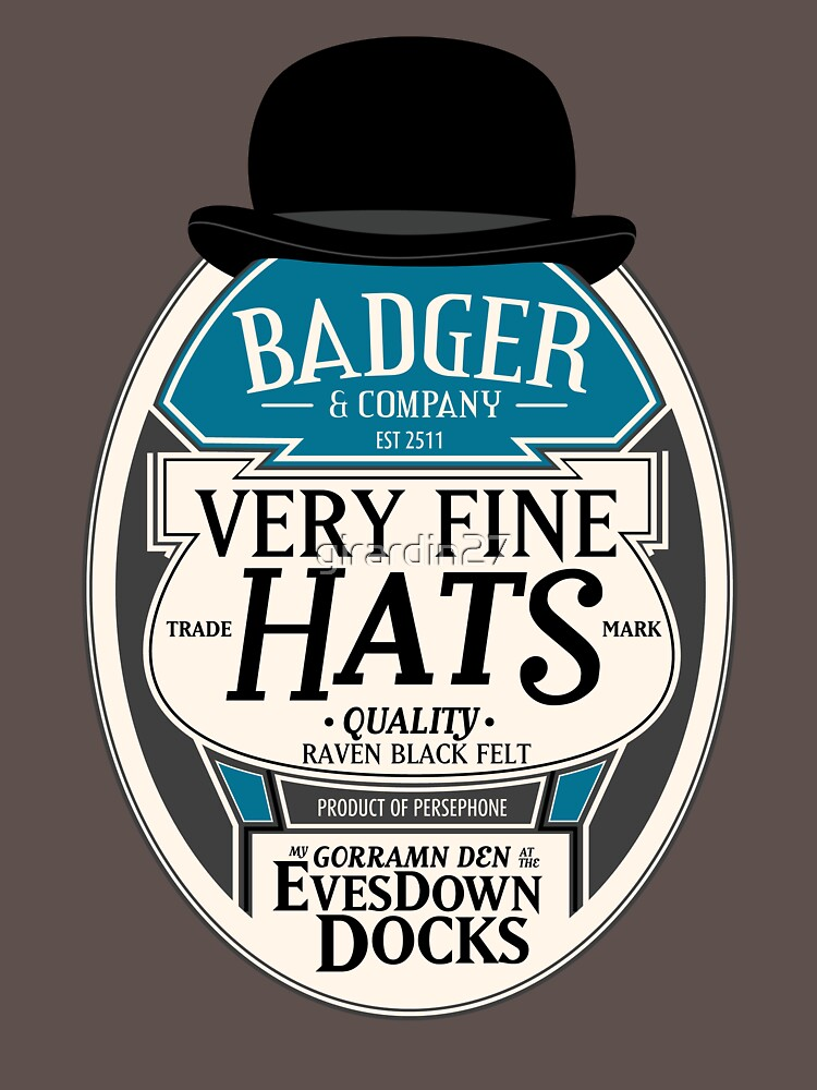 Badger's Very Fine Hats | Unisex T-Shirt