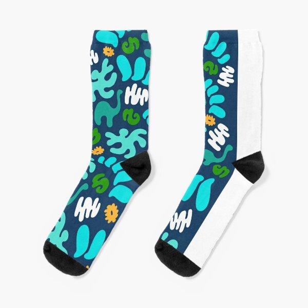 Prehistoric Pattern Socks