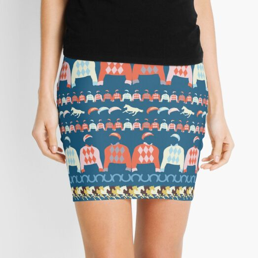 Off to the Races Mini Skirt