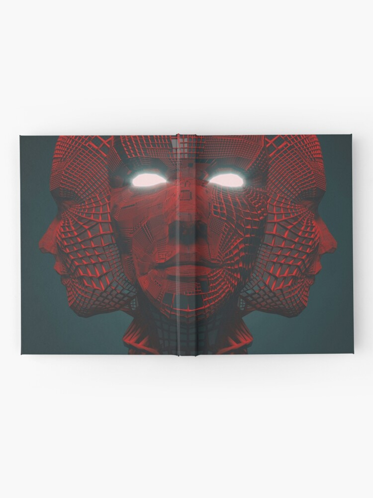 Alternate view of 3 RED FACE Hardcover Journal
