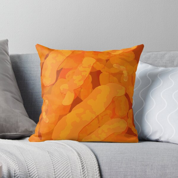 Cheeto Bliss Throw Pillow