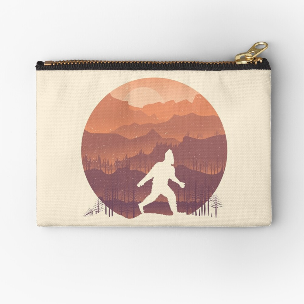 Humans are real... Zipper Pouch