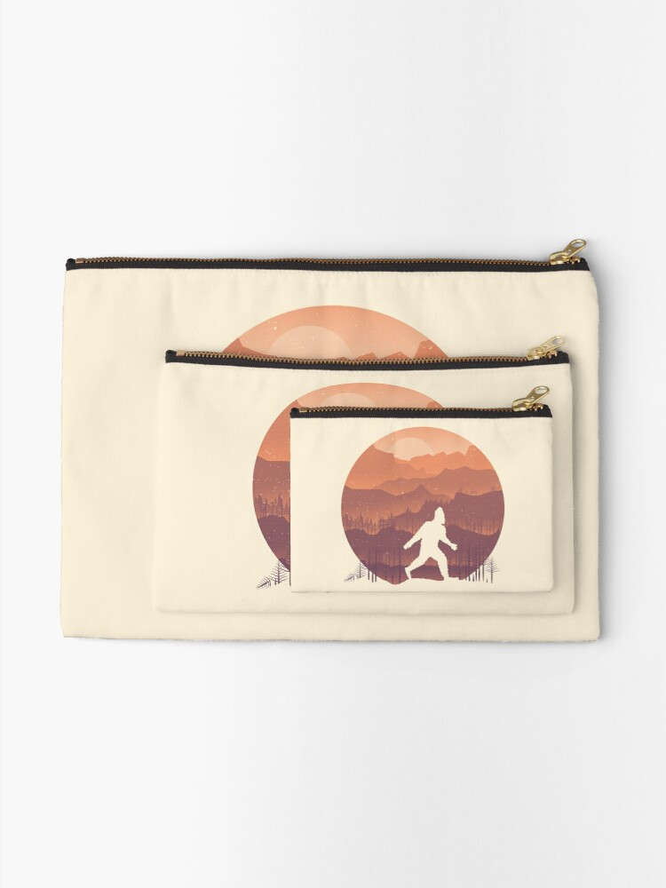 Alternate view of Humans are real... Zipper Pouch