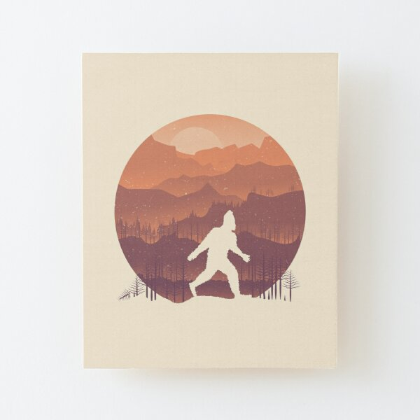 Humans are real... Wood Mounted Print