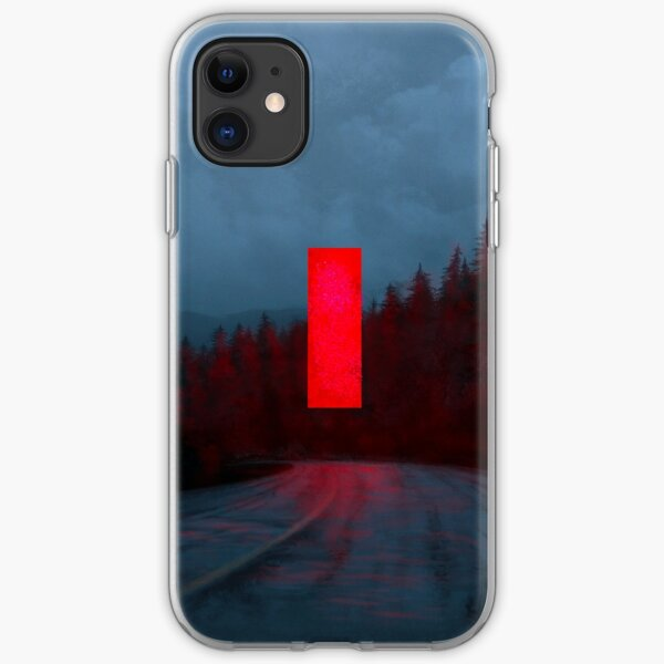 Red Monolith iPhone Soft Case