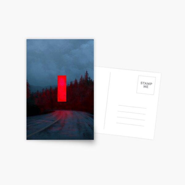 Red Monolith Postcard