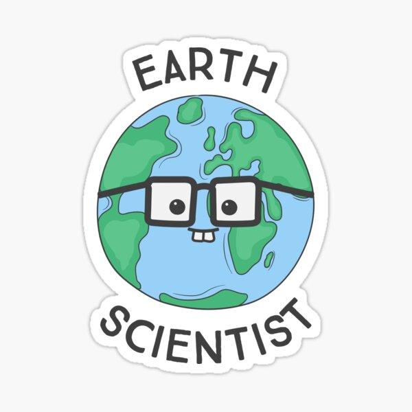 Earth Scientist Sticker