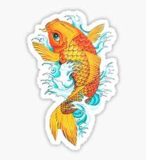 Carp Koi Sticker