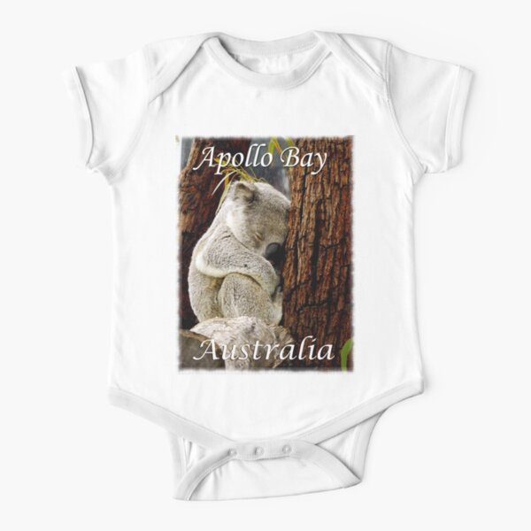 Koala Apollo Bay, Victoria, Australia Tee Shirt Short Sleeve Baby One-Piece