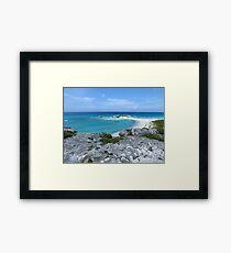 Seashore.  Framed Print