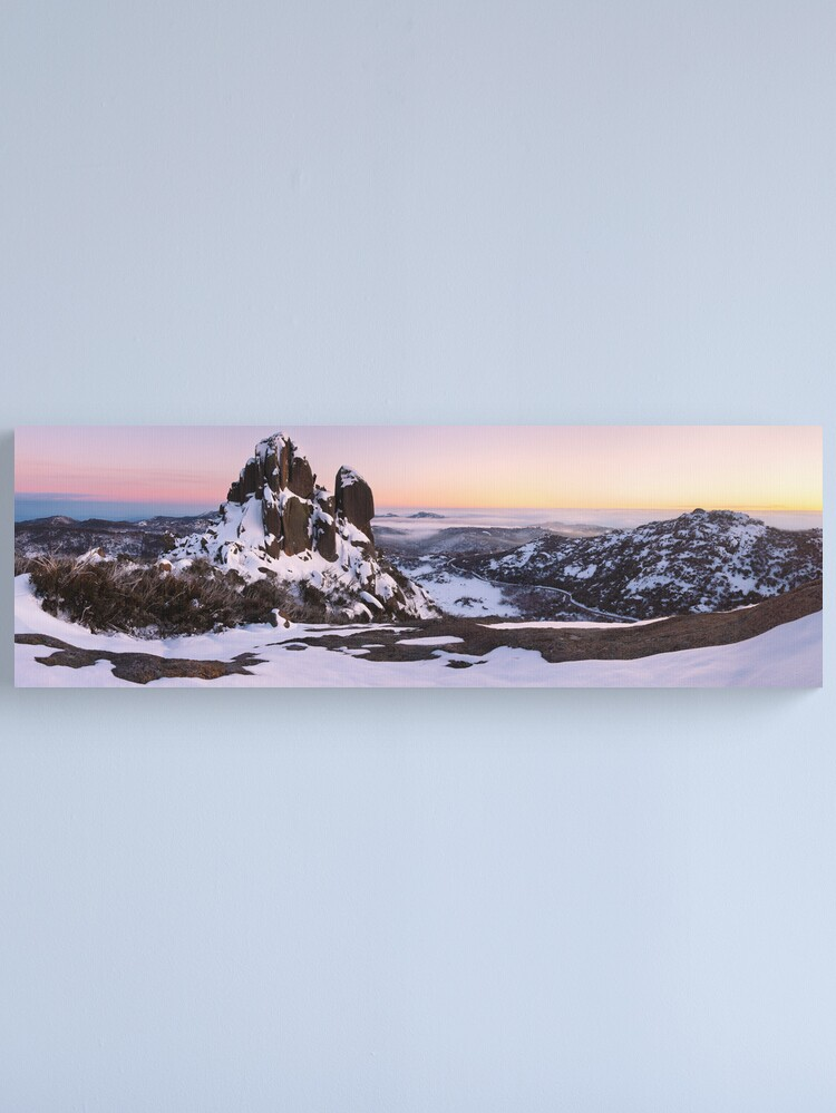 Alternate view of The Cathedral, Mt Buffalo, Victoria, Australia Canvas Print