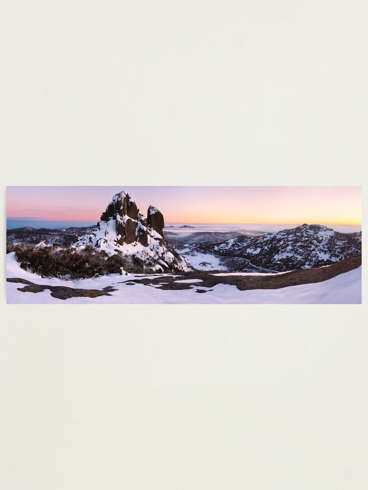 Alternate view of The Cathedral, Mt Buffalo, Victoria, Australia Photographic Print