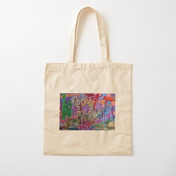 NEW YORK: The Epicenter Cotton Tote Bag