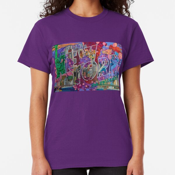 NEW YORK: The Epicenter Classic T-Shirt