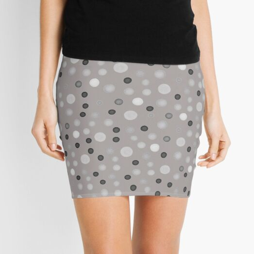 Colored spots Mini Skirt
