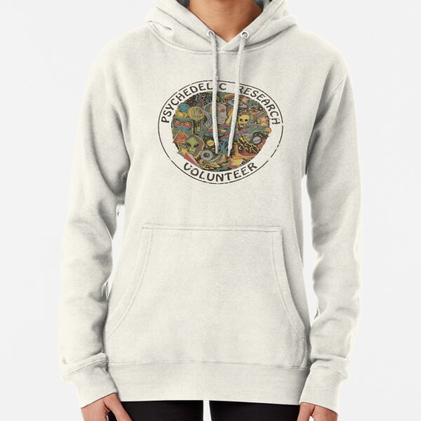 psychedelic research volunteers UFO Pullover Hoodie